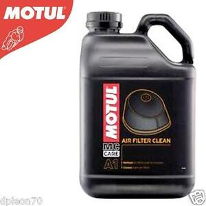 Motul A1 Air Filter Clean per tutti i tipi di Filtri Aria - 5 litri lt