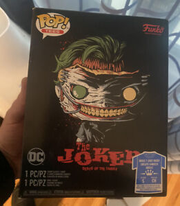 Funko Pop Joker Death of the Family Size Small Tee Hot Topic Exclusive NEW !!!!!