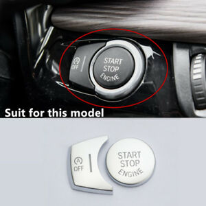 Center Contral Engine Start Stop Buttons Decoration Cover For BMW X5 F15 X6 F16