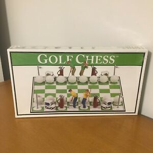 Golf Chess by Big League Promotions - Brand New Sealed