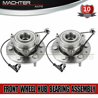 2 Front Wheel Hub Bearing Assembly LH & RH for Chevy GMC Cadillac AWD 4x4 515096