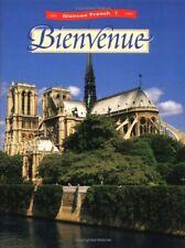 Glencoe French 1 Bienvenue (Glencoe French, Level 1) by Conrad J Schmitt Ph.D.,