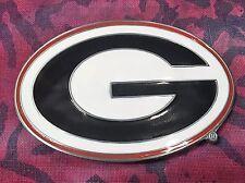 UNIVERSITY OF GEORGIA BULLDOGS BELT BUCKLE NCAA BUCKLES NEW