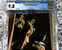 Vampirella Dejah Thoris #1 CGC 9.8 Choi Virgin Variant 1 of 250 Extremely RARE