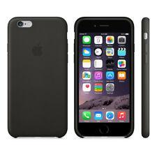Genuine Apple iPhone 6 6s Leather Case - Black
