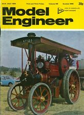 1974 Model Engineer Magazine July 19-31: Aveling & Porter Steam Tractor/Rhodesia