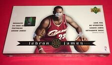 Lebron James 2003 Upper Deck 32 Card Rookie Box Set New  Sealed Possible Auto??