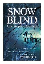 Snowblind by Christopher Golden (Paperback, 2014)
