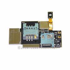 Samsung Galaxy Note i717 Flex Cable Ribbon Sim Card Tray Slot Holder Connector