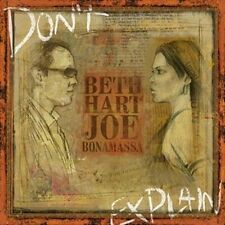 Beth & Joe Bonamassa Hart - Dont Explain [CD New]