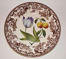 Spode Woodland Garden Delamere Boarder Dinner Plate England Porcelain 10.75