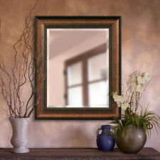 Distressed Embossed Copper Wall Mirror 2080