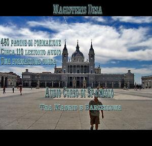 Audio Corso formazione Spagnolo lingue libro ebook dvd