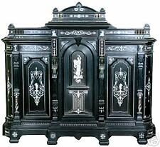 Antique 19th Victorian Ebonized Cabinet by Herter Brothers #6328