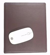 FULL GRAIN GENUINE LEATHER BROWN HANDMADE NONSLIP MOUSE PAD by OZCRAFT
