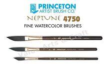 "Princeton Neptune 4750 DG Watercolour Brushes Dagger Size: 1/4"", 3/8"", 1/2"""