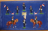 Britains Soldiers. The 9th/12th Royal Lancers. 8 Piece Set #5392. Ltd Edition