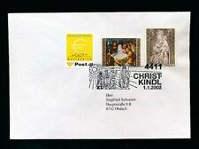 Christkind-Stempel 1.1.2002 mit Ergänzungsmarke   (CH23)