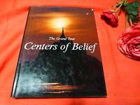 1977 livre  les centres de croyance ,en anglais photos couleurs