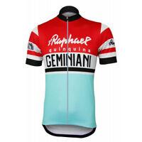 1955 S Raphael Cycling Jersey Retro Road Pro Clothing MTB Short Sleeve Racing
