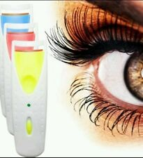 Electric Heated Eyelash Curler Long Lasting Battery Power Beauty Tool Makeup New