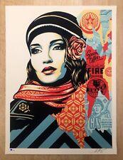 Shepard Fairey | Obey Giant | Fire vente | Ed de 550 signé & numéroté