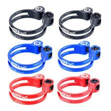 Titanium Alloy Bike Seatpost Clamp 34.9/31.8mm Seat Post Tube Collar Clip