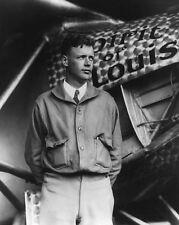 CHARLES LINDBERGH SPIRIT OF ST. LOUIS 1927 11x14 SILVER HALIDE PHOTO PRINT