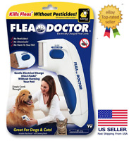 Pet Comb Grooming Anti Fleas Electric Remover for Dogs and Cats KILLS FLEAS !
