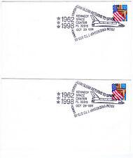 1998 - FLAG OVER PORCH - JOHN GLENN Space Cover - Rare FOP Usage - USA