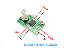 Mini LM386 Audio Power Amplifier Amp Board 3V 5V 9V 12V Adjustable volume 250mW