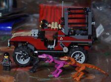 Lego Dino 2010 7296 Dino 4W Trapper avec notice