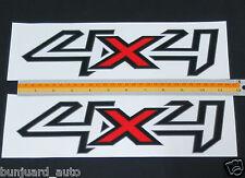 2X 4X4 LOGO EMBLEMS BADGE DECALS PLATE STICKER FORD RANGER T5 T6 02-13 14 XLT PX