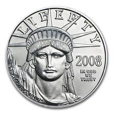 2008 1/10 oz Platinum American Eagle Coin - Brilliant Uncirculated - SKU #31390