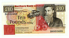 Northern Ireland … P-194a … 10 Pounds … 1988 … *XF+*