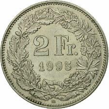 Switzerland, 2 Swiss Francs Coin, 1995