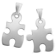 TRENDOR accessori in argento ciondolo coppia Puzzle 87400