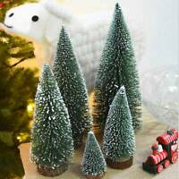 CHRISTMAS WINTER TREE MINI CEDAR ORNAMENTS PARTY DOLLS HOUSE DECOR
