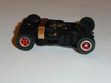 AUTO WORLD ULTRA G HO SLOT CAR ORANGE/SILVER RIMS FIRESTONE TIRES SET CAR ONLY!