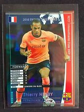2009-10 Panini WCCF FRS Thierry Henry rare refractor card Barcelona