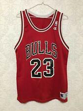 Vtg NBA Chicago Bulls Michael Jordan #23 Vintage Champion Jersey Size 44