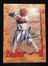 PHIL NEVIN 1995 MINOR LEAGUE AUTOGRAPHED SIGNED AUTO BASEBALL CARD TOROS