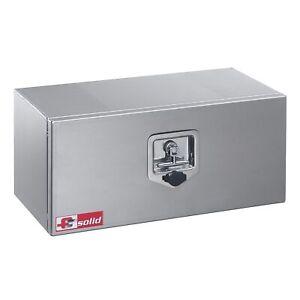 Unterflurbox Alu Anhängerkiste Staubox Gurtkiste Staukasten Unterbau von FTsolid