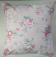 """Shabby Chic Cushion Cover in Cath Kidston Trailing Floral Pink 16"""""""