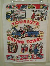 Souvenir Tourist's CRYING TOWEL Whiteface Mountain Memorial Hwy Adirondacks NY