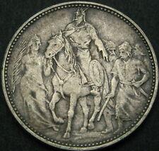 HUNGARY 1 Korona 1896 - Silver - Millennium Franz Joseph I - VF - 3928 ¤