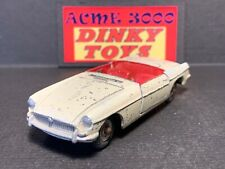 1962-68 Dinky Toys - 113 MGB ROADSTER Sports Car - Cream - NO BOX