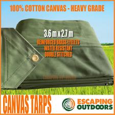 Heavy Duty PVC Tarp 7.2m x 3.6m 100 Waterproof 610 gsm TARPAULIN COVER BOAT CAR