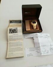 PULSAR P3 Time Computer LED Gents Watch, Boxed, Papers, Overhaul & Service