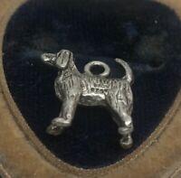 Vintage Sterling Silver Necklace 925 Pendant Animal Dog Charm